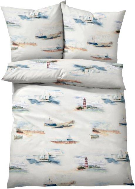 Bettwäsche Dunja Maritimes Flair Für Das Schlafzimmer Bunt Linon