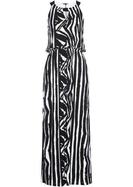 9bbc5da80671 Shirtkleid lang schwarz weiß bedruckt - Damen - bpc selection ...