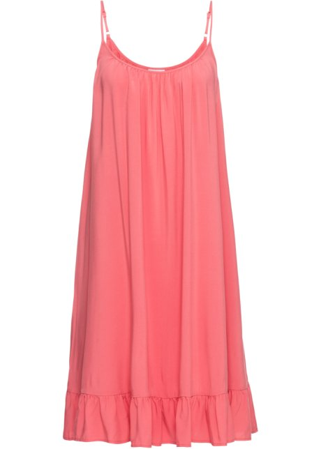 870ef56de76 Weites Hängerchen-Kleid mit Volant - softhummer