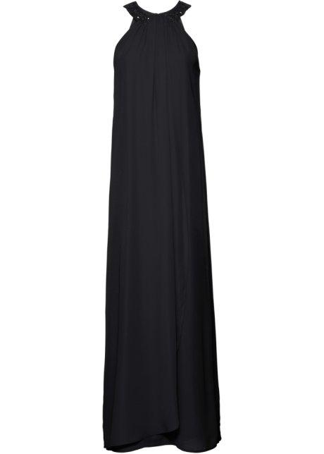 874718f30c5aff Abendkleid mit Applikationen schwarz - Damen - bonprix.de