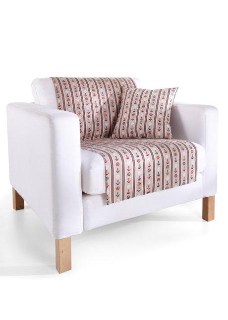 Sessel Oder Couch Erhalten Neuen Küstenlook Mit Dem Sofaläufer