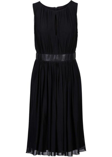Satin Taillenband Kleid Mit Aus Zartes nw8k0PO