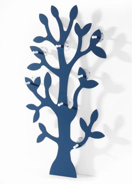 Die Garderobe Baum Ist Formschon Und Aussergewohnlich Blau