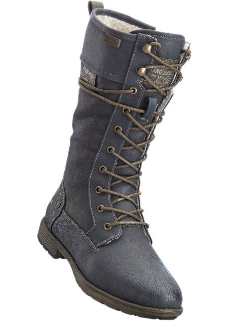 0a2127bf27ad Für warme Füße  die Schnürstiefel - anthrazit