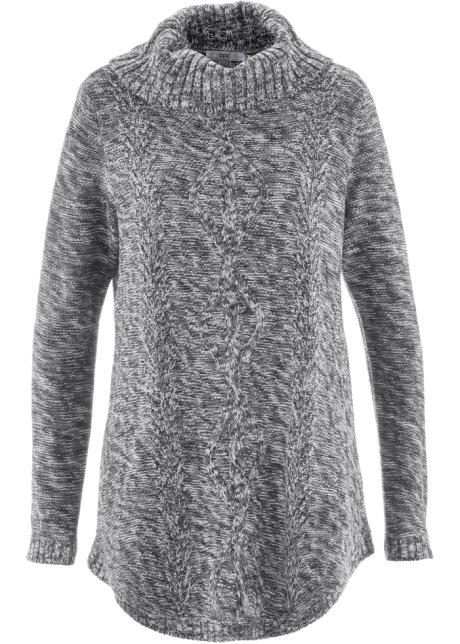 abb38d9013e86b Poncho-Pullover mit langen Ärmeln, bpc bonprix collection