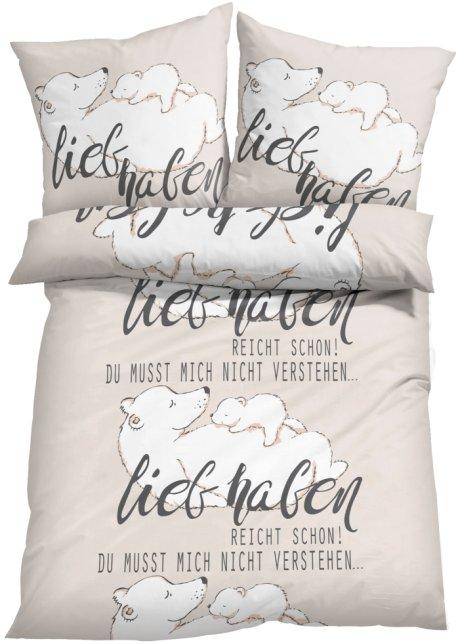 Lädt Zum Kuscheln Ein Lustig Bedruckte Bärchen Bettwäsche Felix