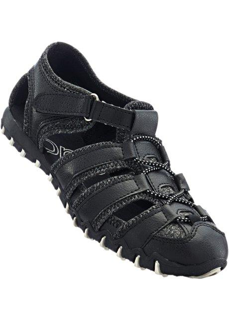 d522f89d8705 Trekking Schuh schwarz meliert - Damen - bonprix.de