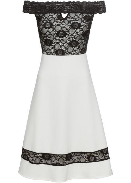 newest collection 3628d f39db Carmen-Kleid und Spitze