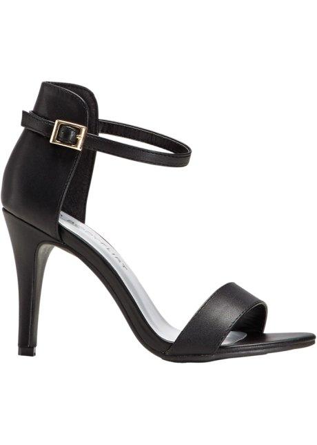 Sandaletten Pumps schwarz von Bonprix