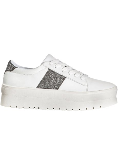timeless design ccbeb f530f Sehr stylish: Plateausneaker mit Glitzerelementen