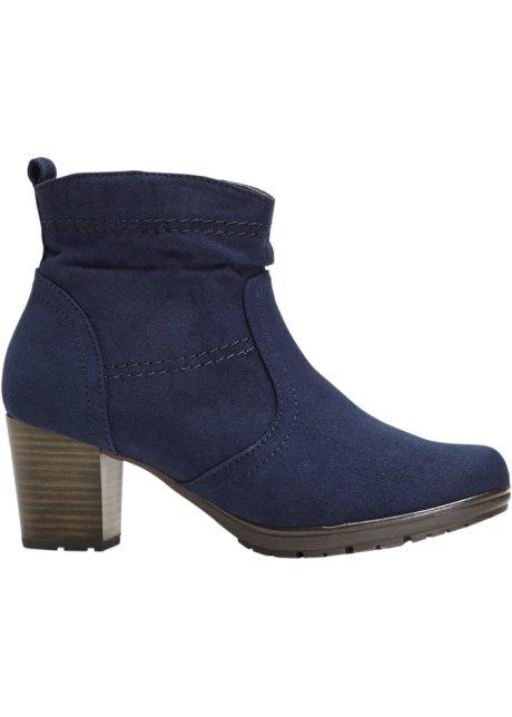 aeaf8e242385c9 Moderne Stiefelette für jeden Tag - dunkelblau