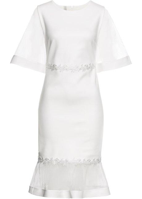 promo code f3d8f 02d8d Kleid mit Netz-Einsätzen und Spitze