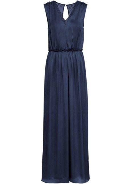 e37d450d537a53 Wunderschönes Abendkleid ohne Ärmel - dunkelblau