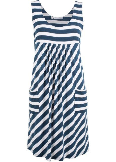 gestreift Stretch Stretch Stretch gestreift dunkelblauweiß Kleidgestreift Damen Damen Kleidgestreift dunkelblauweiß zSGjMVpLqU