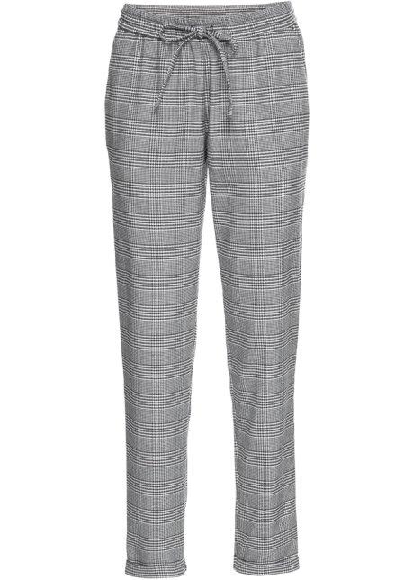 guter Verkauf Steckdose online Verkauf Einzelhändler Karierte Hose mit seitlichen Streifen