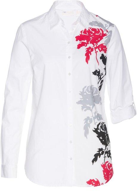 low priced f2047 ccedf Edle Bluse mit floralem Druck
