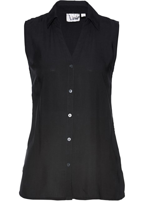 new product 04373 b66fb Charmante Bluse mit Seitenschlitzen