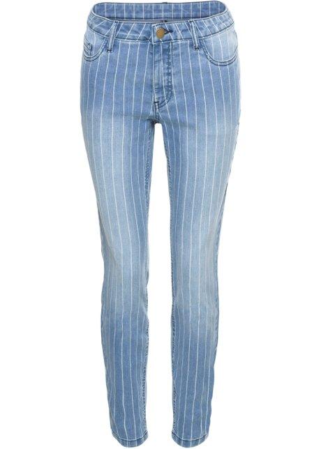 achten Sie auf am besten online Bestbewertet echt Skinny Jeans mit Streifen