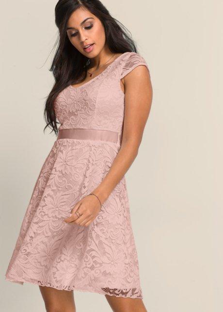 44015ccdeea84d Charmantes Kleid mit Taillenband - vintagerosa