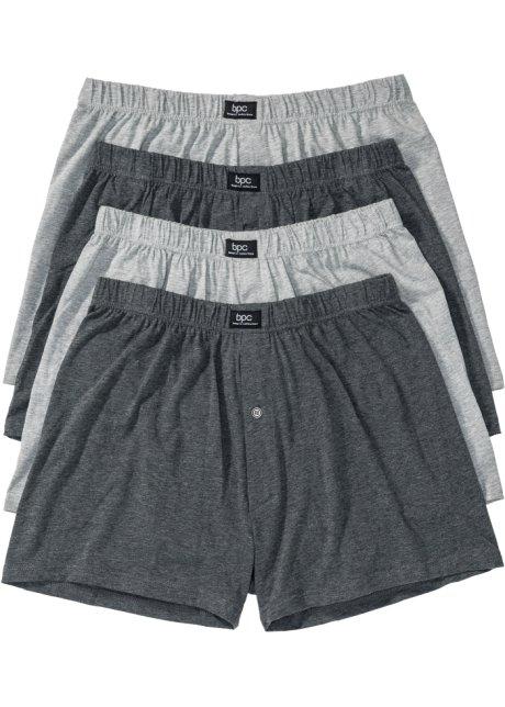 83b315a7b4 Lockere Jersey Boxershorts mit hohem Tragekomfort - grau meliert