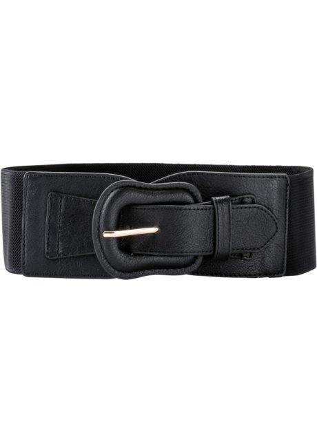 Gürtel Stretchgürtel schwarz  Gesamtlänge:70 cm  kostenloser Versand