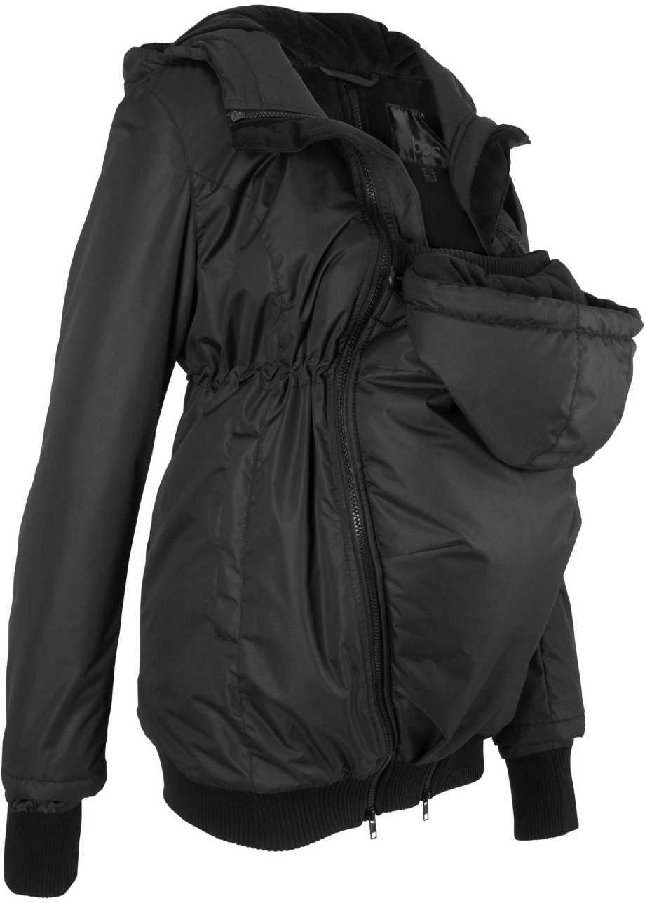 bonprix collection - Winterjacke mit Baby-Einsatz für vorne und hinten