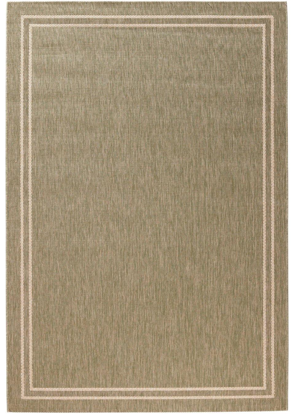 strapazierf higer in und outdoor teppich elba in wohnlichen farben gr n. Black Bedroom Furniture Sets. Home Design Ideas