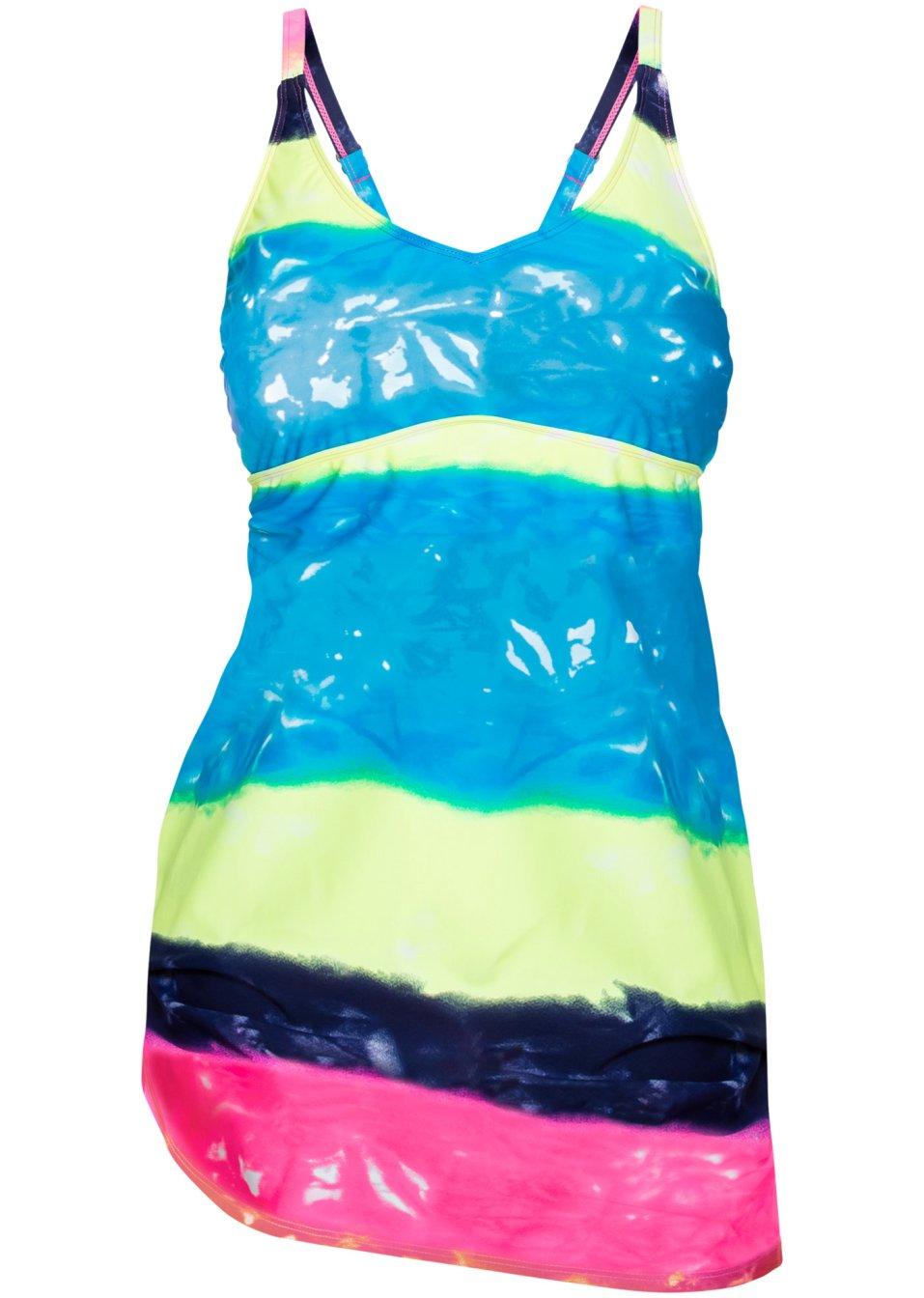 Trendy Badekleid mit integriertem Badenanzug. - batik 3j0pU 5jQdc