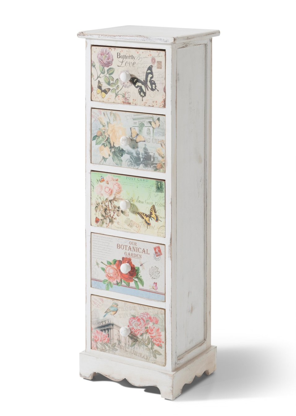 Kommode Mit 5 Schubladen Weiss Bpc Living Bonprix Collection