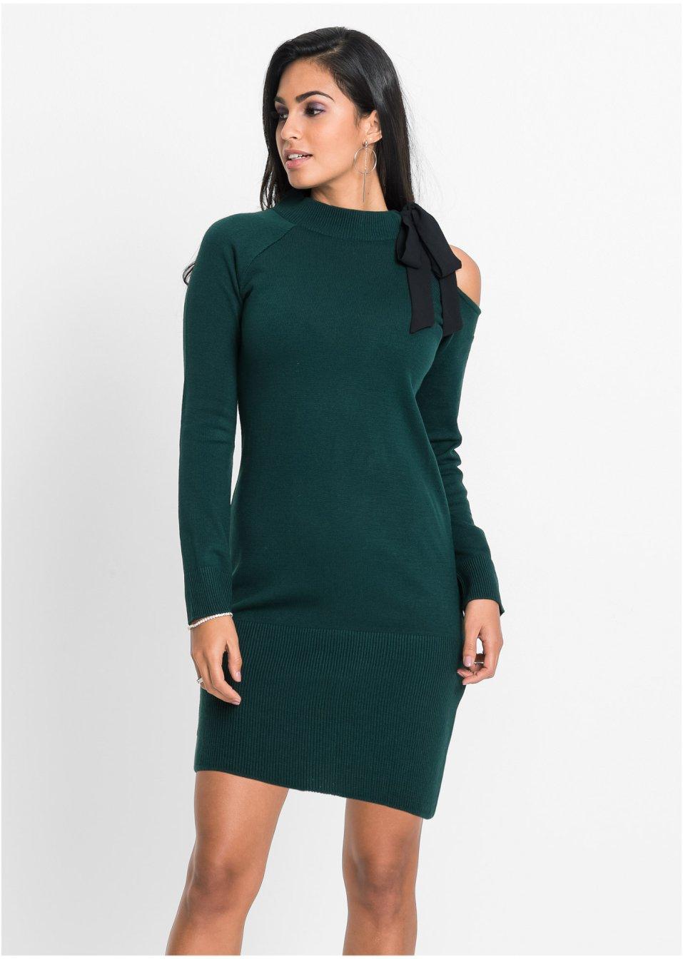 0464f0cd395e Sexy Kleid mit Cut-Out - schwarz