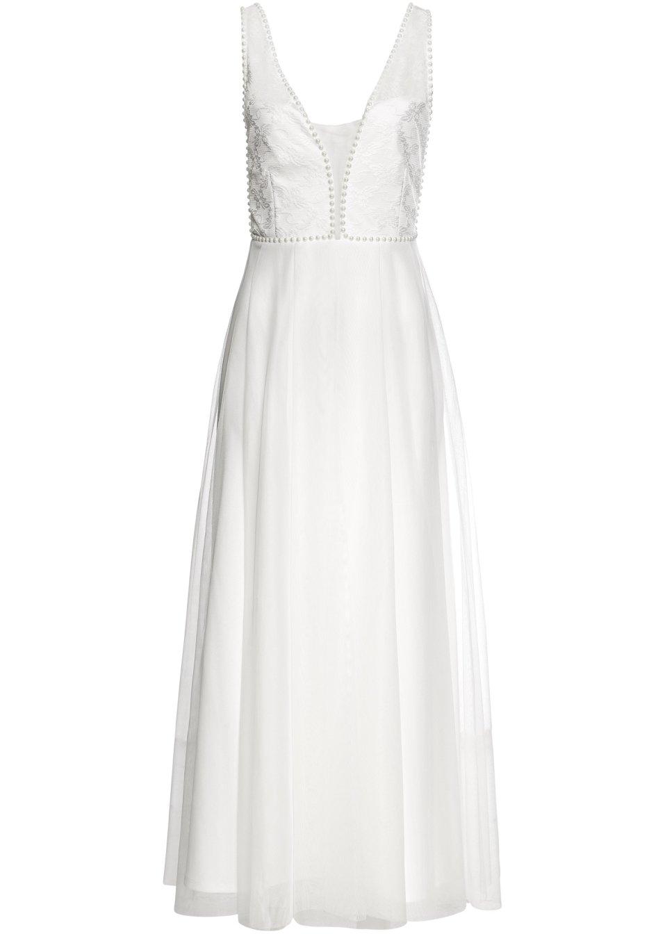 Brautkleid weiß - BODYFLIRT boutique online kaufen - bonprix.de BIYBO HTVmp