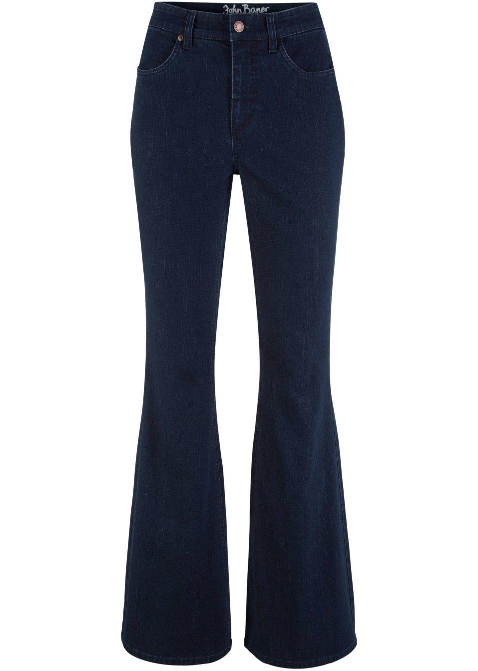 Basic-Soft-Stretch-Jeans - dunkelblau Normal tMGPL Waz8b