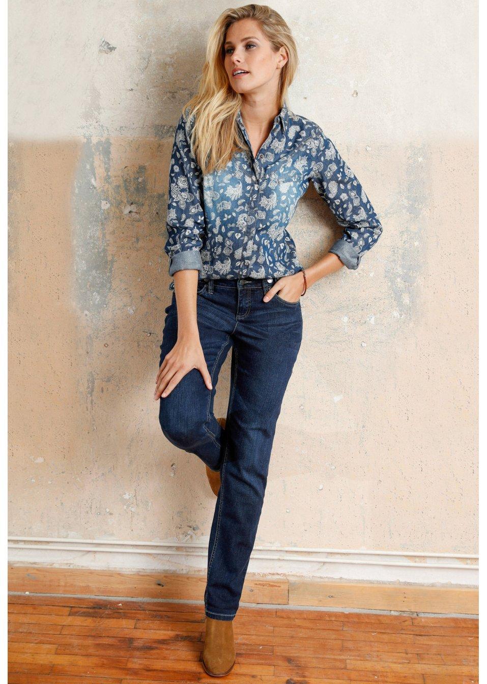 Damen Jeanshemden jetzt bei bonprix bestellen