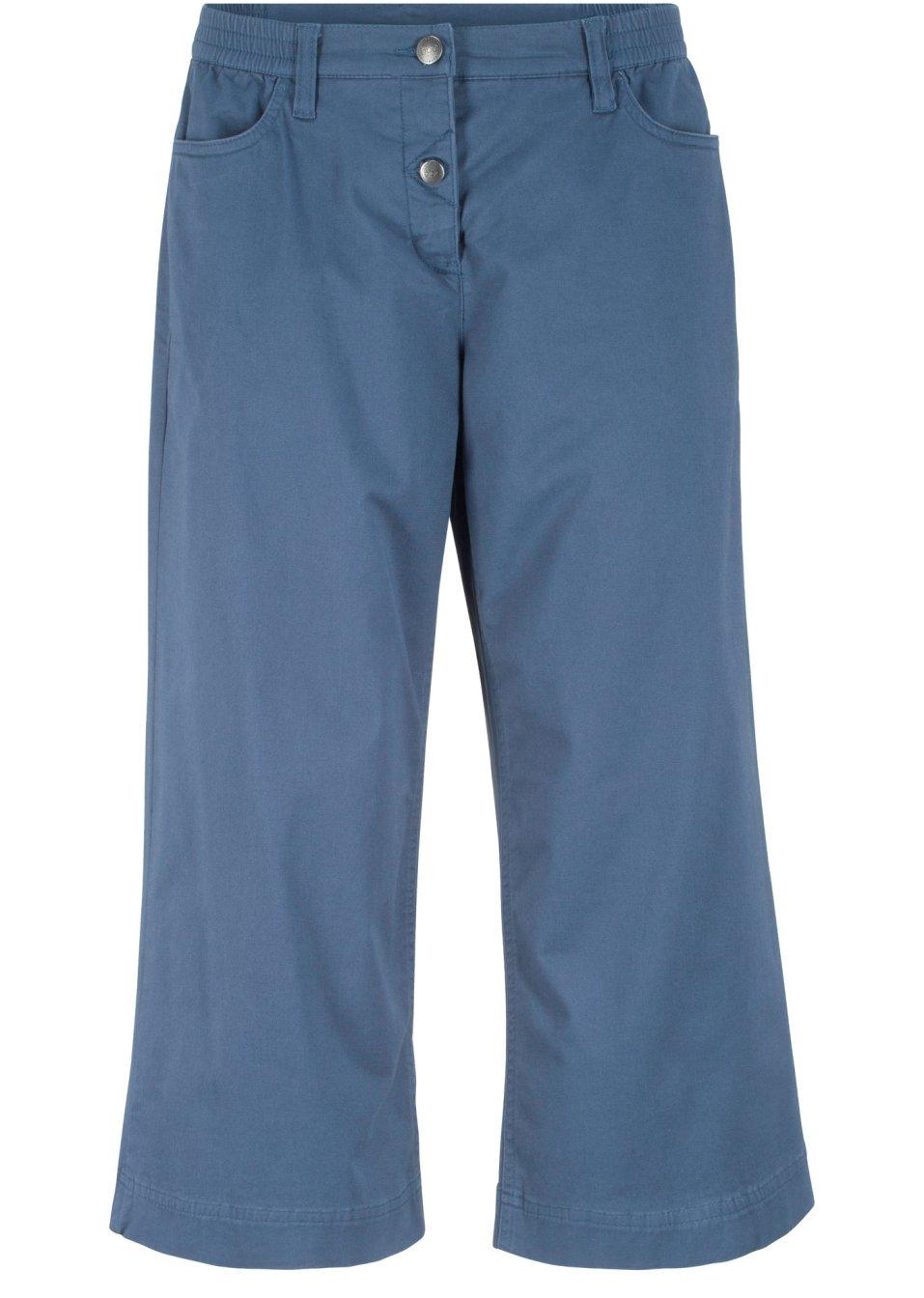Extra-weit geschnittene Hose mit teilelastischem Bund und Gürtelschlaufen - indigo zUhgv OciDA