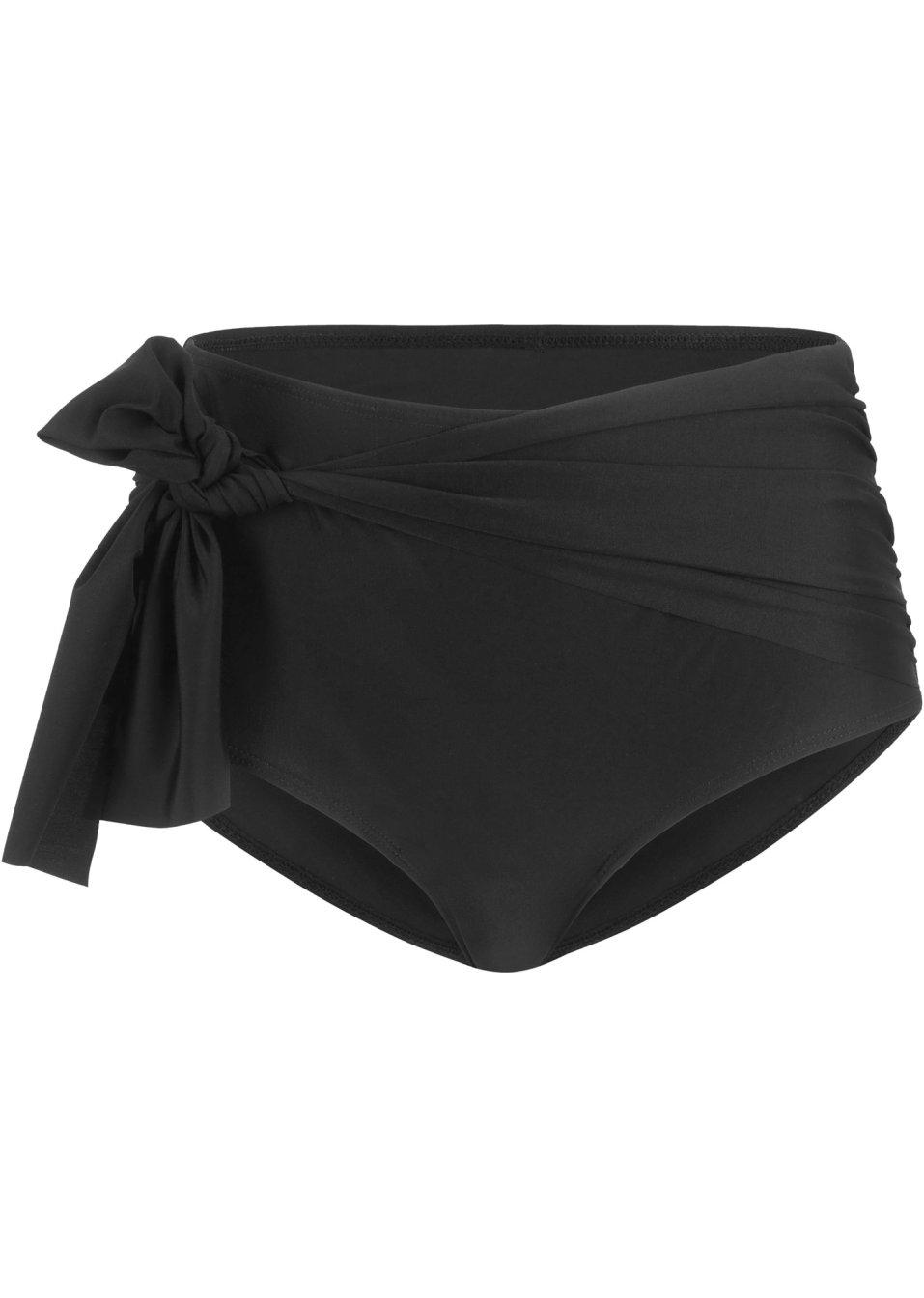Abwechlungsreiche Shape Bikinihose mit Shapewear-Effekt - schwarz cBh9x nmdlJ