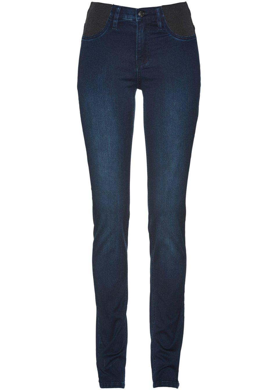 Ansprechende Jeans mit breiten Elastik-Einsätzen - darkblue stone Normal zRs4Q iA4Gz