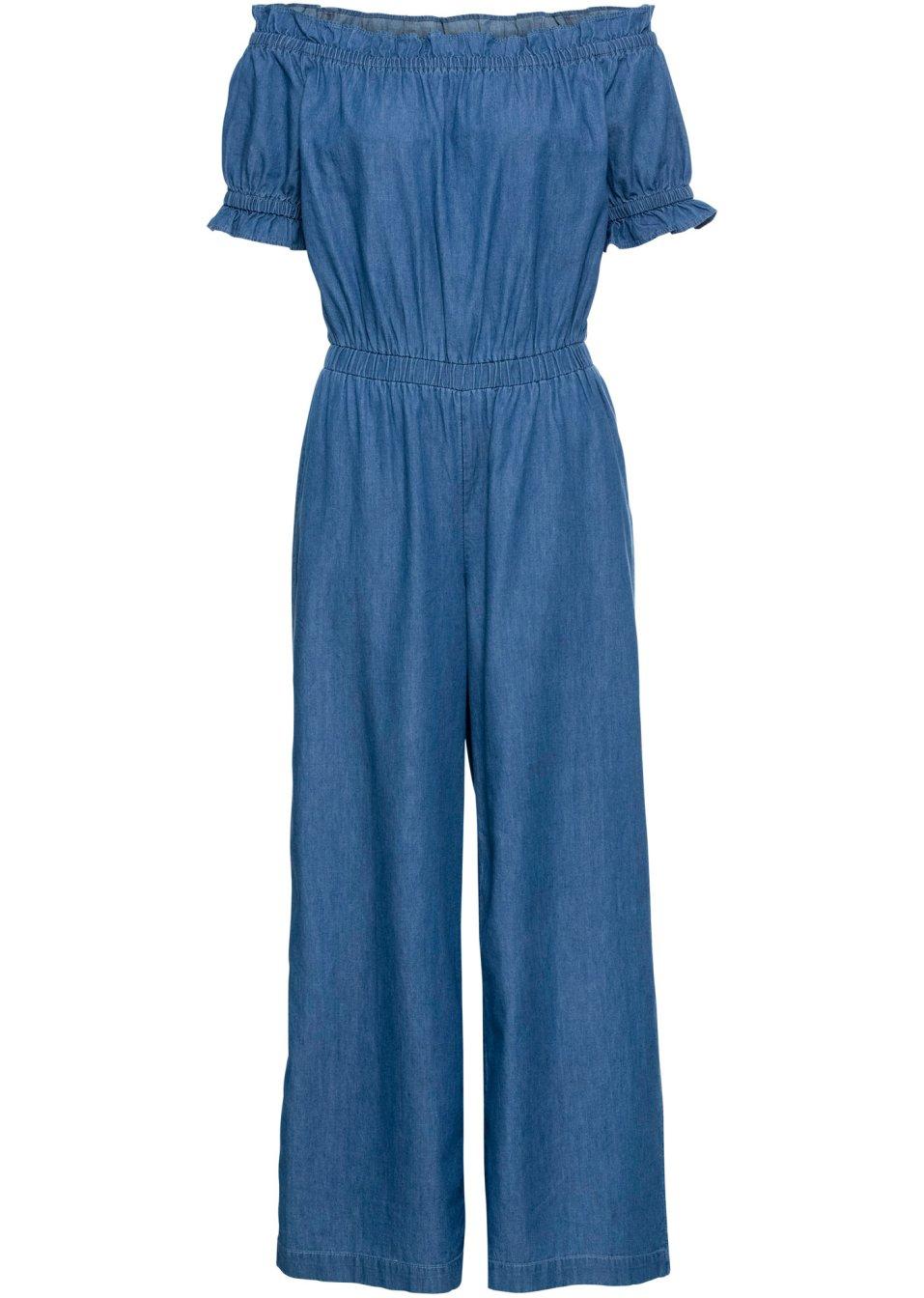 Jeans-Jumpsuit blue stone - RAINBOW online bestellen - bonprix.de D5W7g QrwwJ