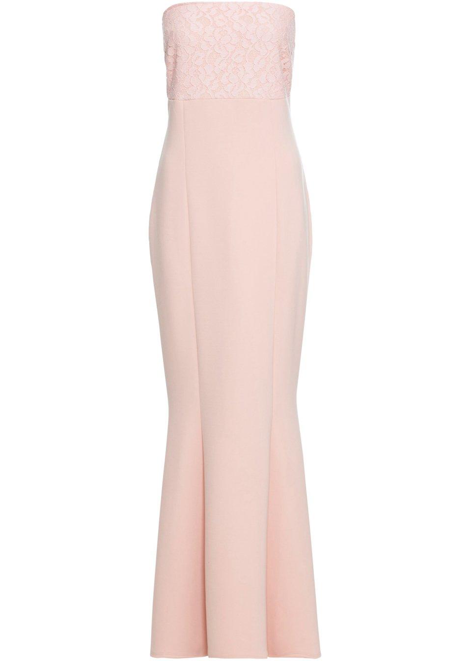Abendkleid mit Spitzeneinsatz rosa - Damen - BODYFLIRT boutique - bonprix.de enw4p u9zAb