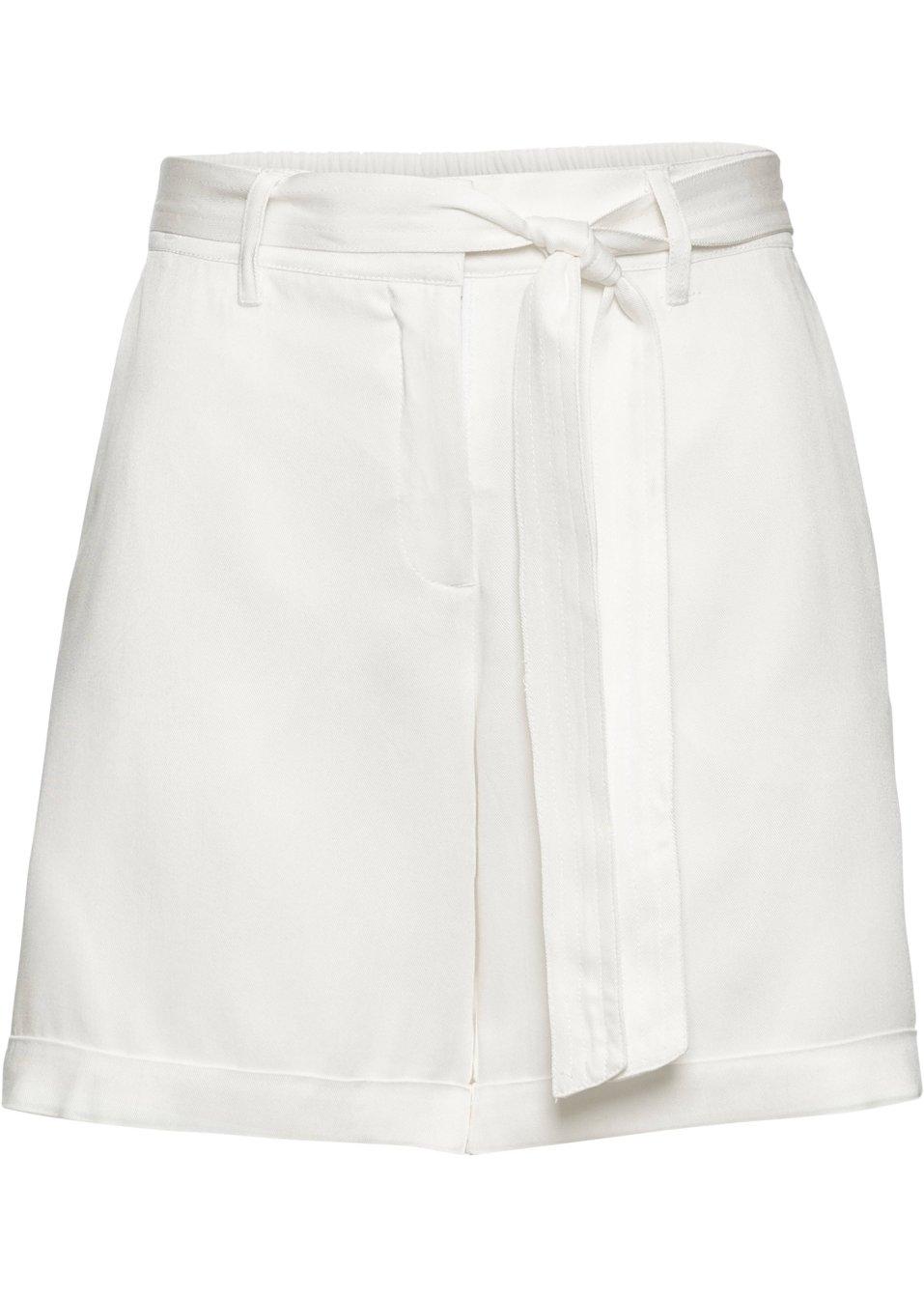 Shorts mit Bindeband - wollweiß Normal m0dwY lVtwu