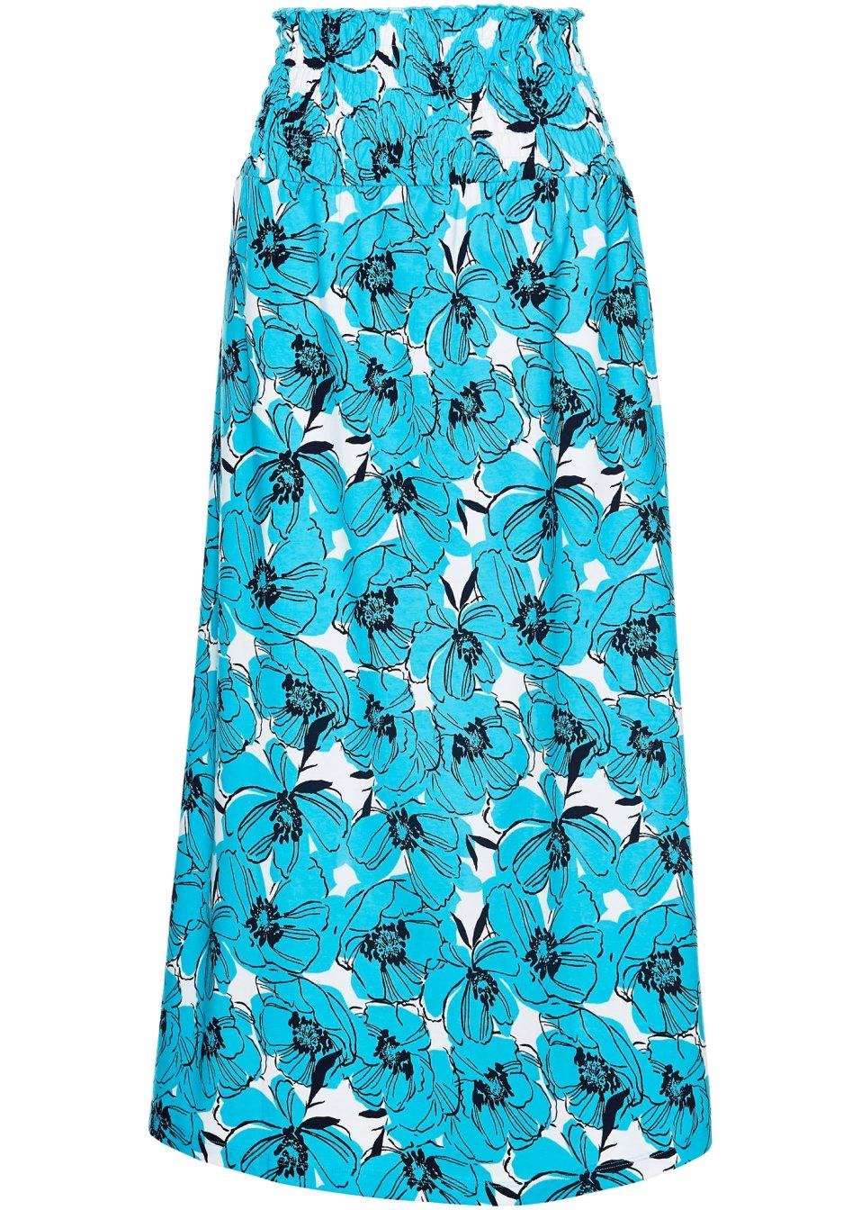 Jersey-Rock 2 in 1 weiß/karibikblau/blau - bpc selection online kaufen - bonprix.de f4F56 GHwEK