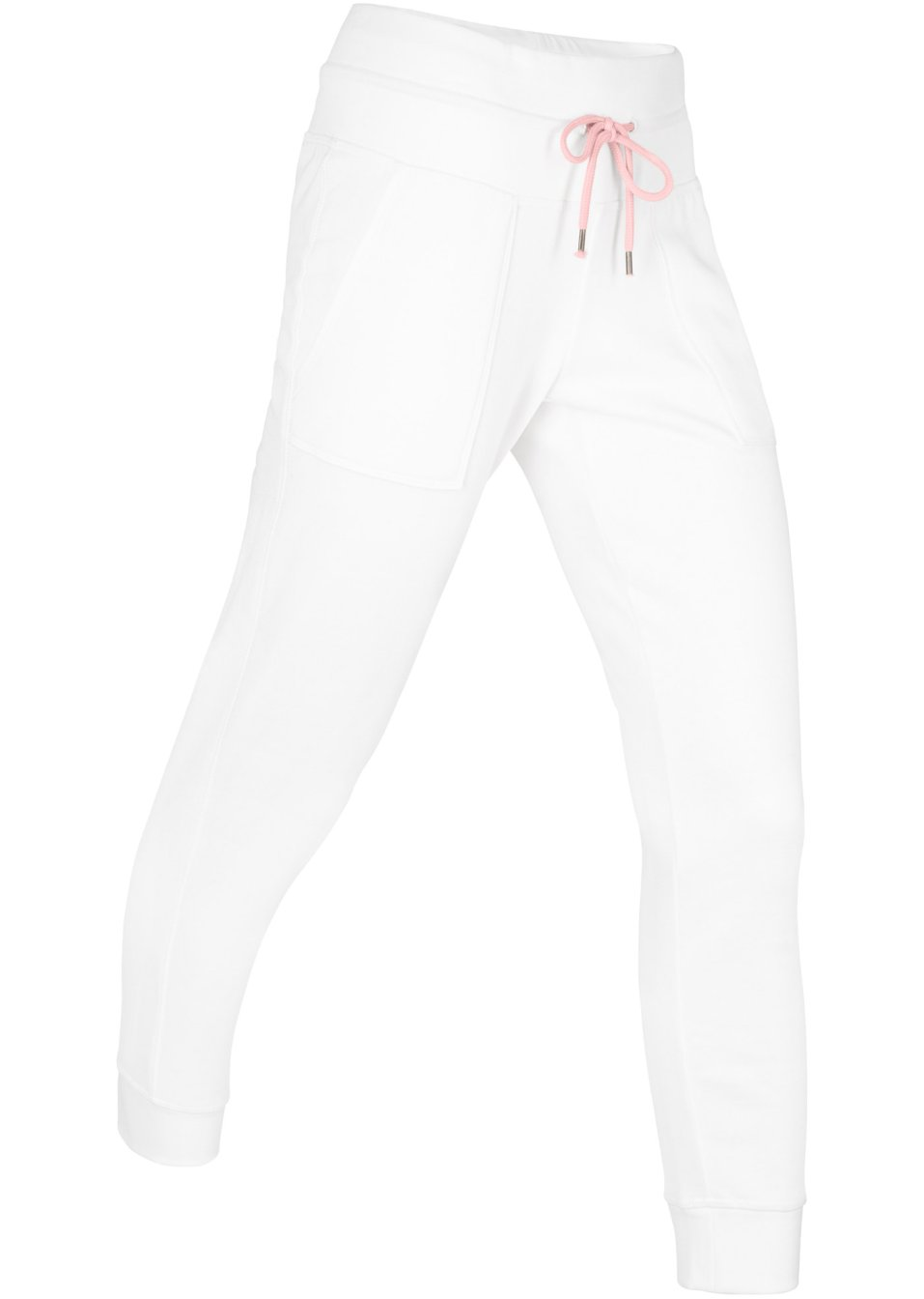 Komfortable Basic-Sweathose mit Gummibund - wollweiß 7a4eO JXAxU