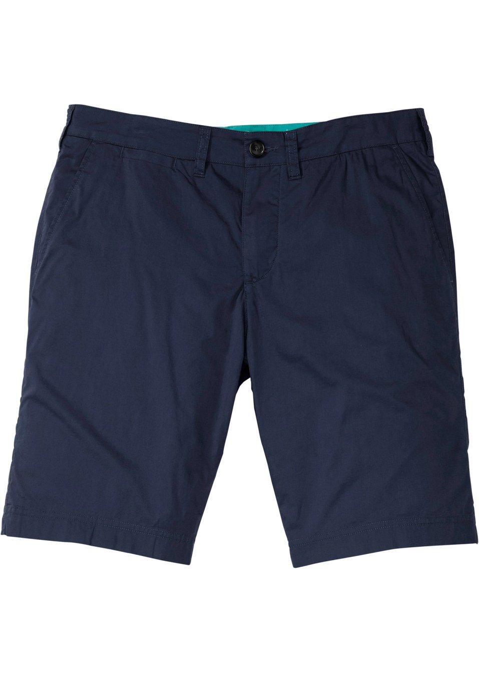 Modische Herren Chino-Bermuda - dunkelblau PkmQn sIWtS