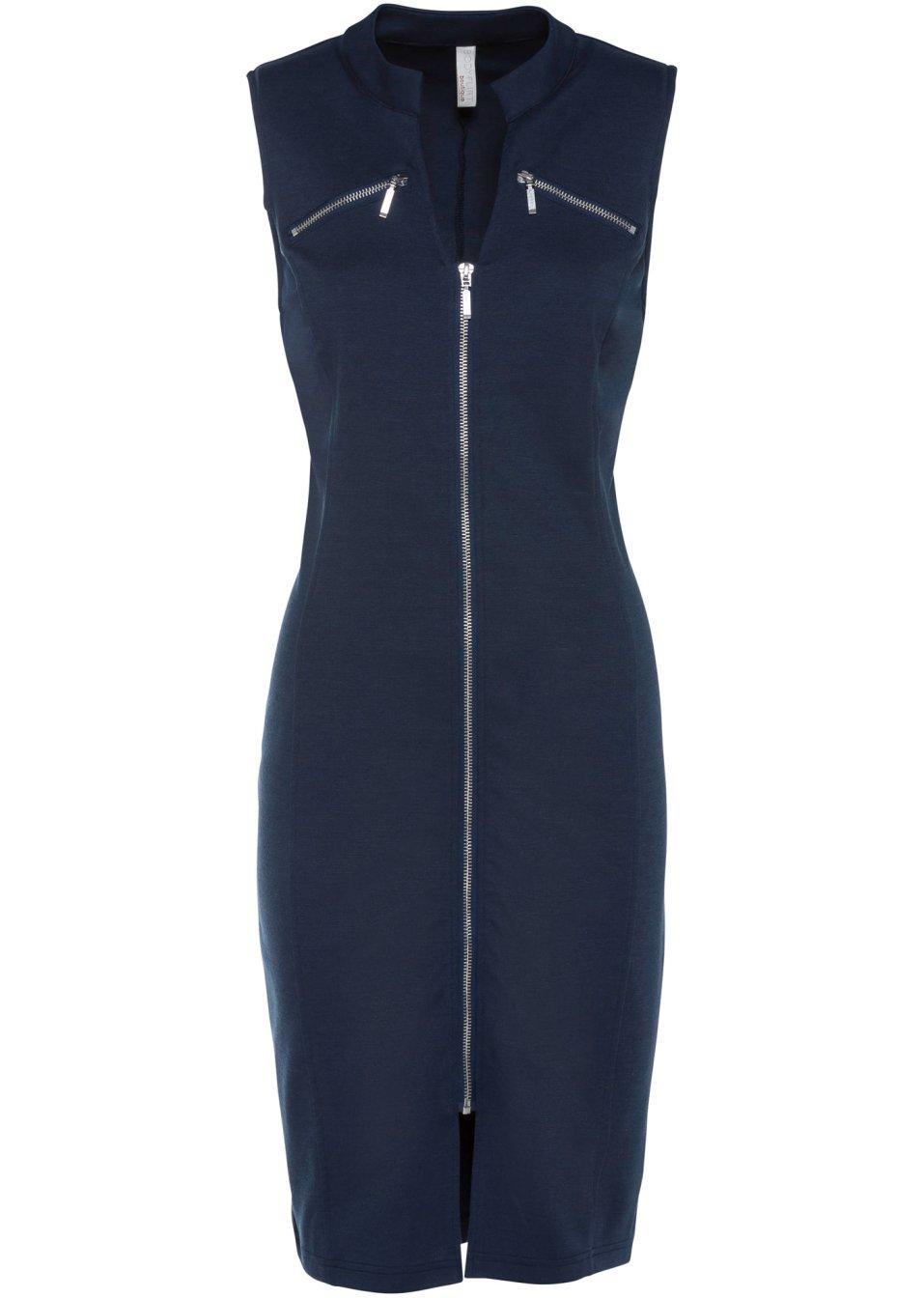 Shirtkleid mit Reißverschluss dunkelblau - BODYFLIRT boutique online kaufen - bonprix.de 1zrUh oeNxf