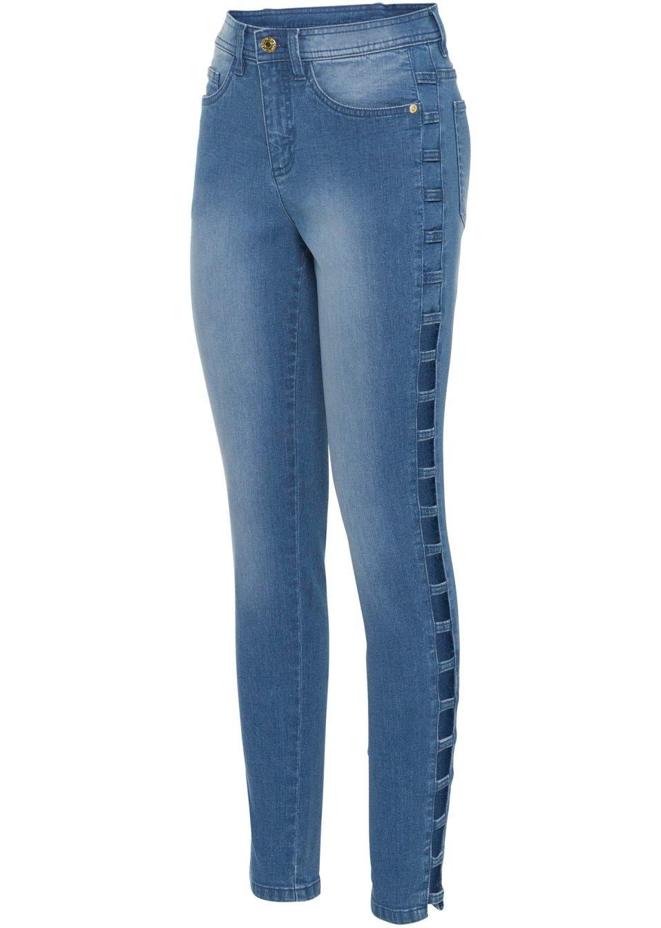 Jeans mit Cut-Outs blue bleached - Damen - bonprix.de oAc4Z ZjtvP