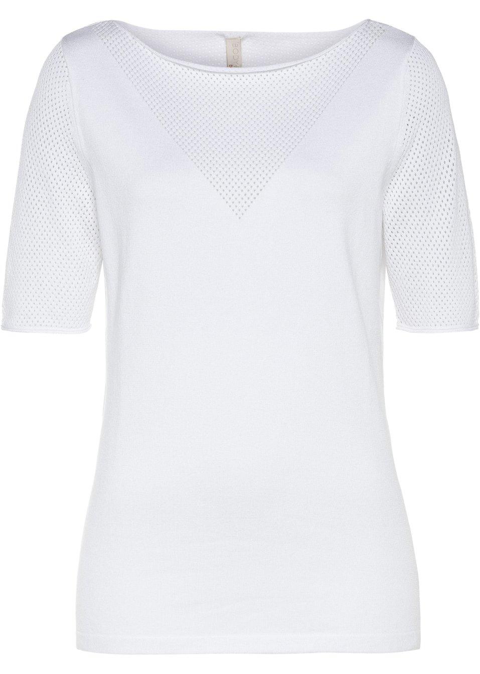 Strickshirt weiß - Damen - BODYFLIRT boutique - bonprix.de 4g0dz nfs3v