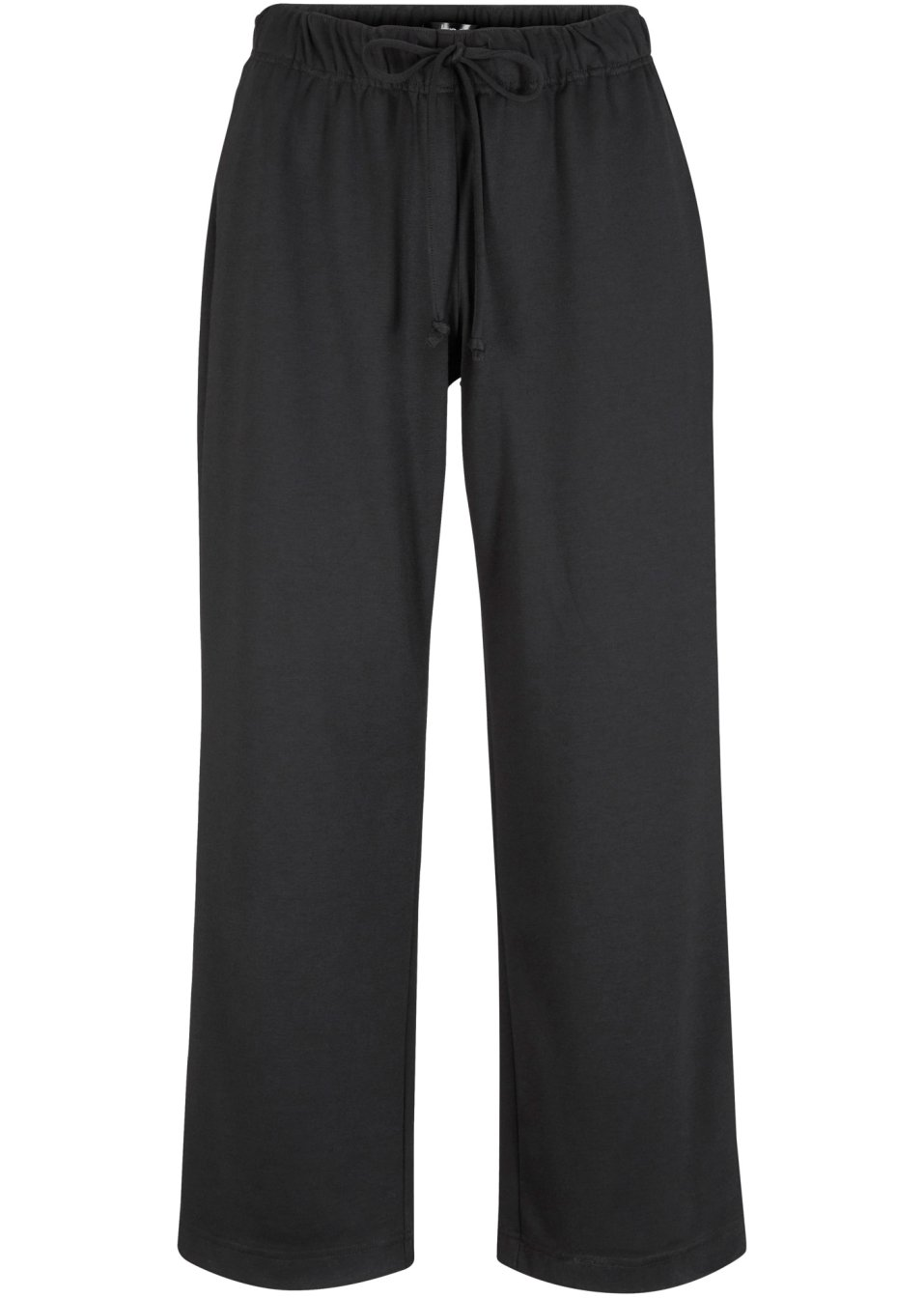 Komfortable Hose in 7/8 Länge und elastischem Bund - schwarz oFrgh 9hEAt