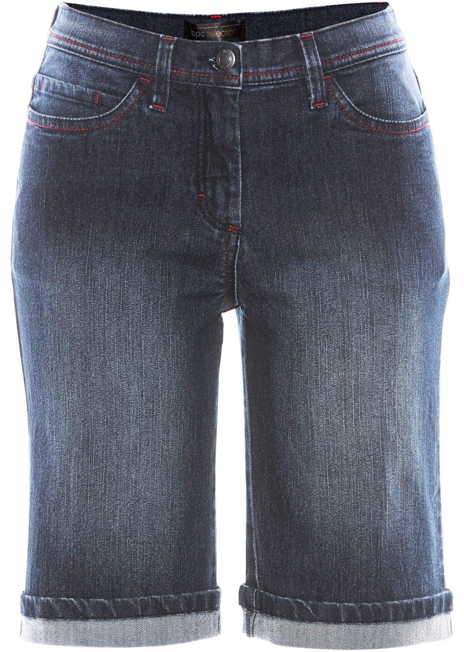 Jeans-Bermuda dark denim - bpc selection online bestellen - bonprix.de KToNG EYMQC