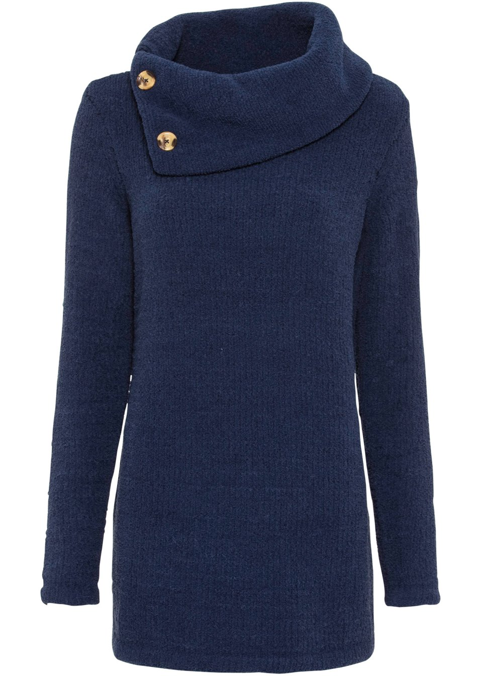 Long-Pullover dunkelblau - Damen - bonprix.de hrk07 sRvSi