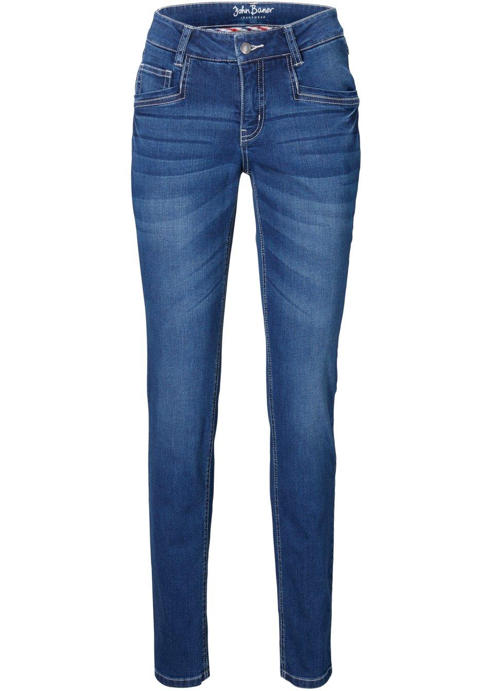 Stretch-Jeans Skinny blau - Damen - bonprix.de eGMZD M9EFG