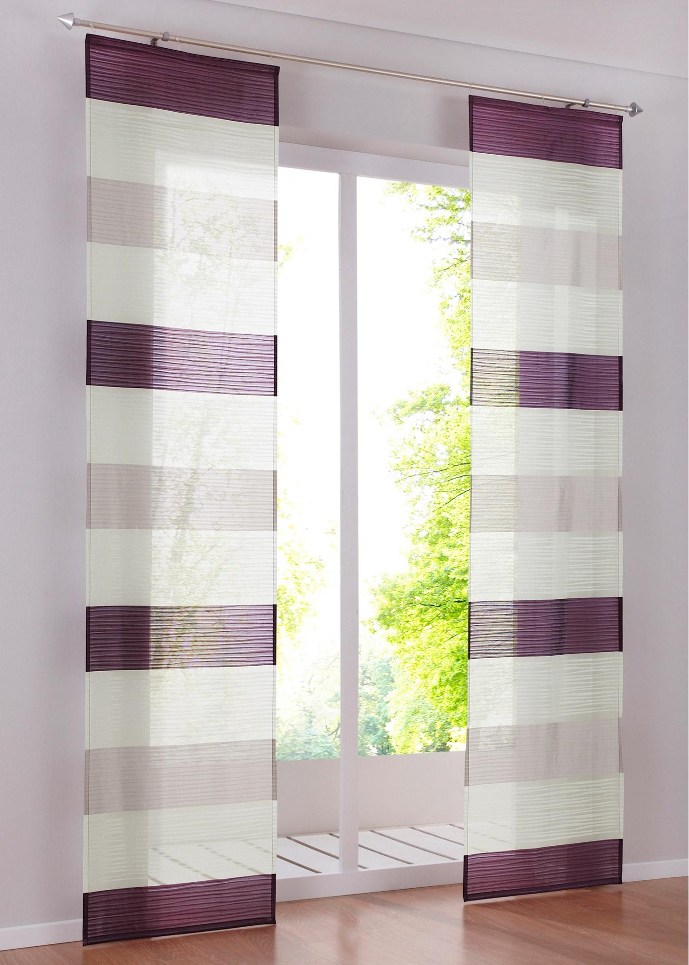 gardinen schiebevorh nge lila preisvergleiche erfahrungsberichte und kauf bei nextag. Black Bedroom Furniture Sets. Home Design Ideas